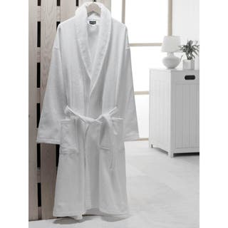 Salbakos Velour Shawl Collar Turkish Cotton Bath Robe|https://ak1.ostkcdn.com/images/products/7516334/7516334/Salbakos-Shawl-Collar-Turkish-Cotton-Robe-P14955550.jpeg?impolicy=medium