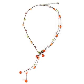 Link to Handmade Multi-gemstone 'Gem Rave' Beaded Necklace (Thailand) Similar Items in Fashion Jewelry Store