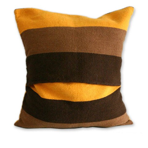Set of 2 Handmade Alpaca 'Wari Colors' Cushion Covers (Peru)