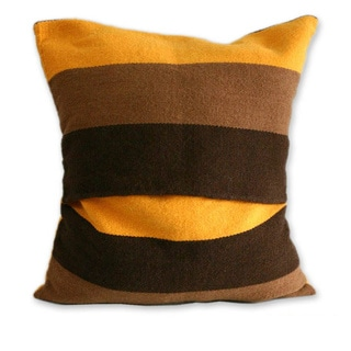 Set of 2 Handmade Alpaca 'Wari Colors' Cushion Covers (Peru)