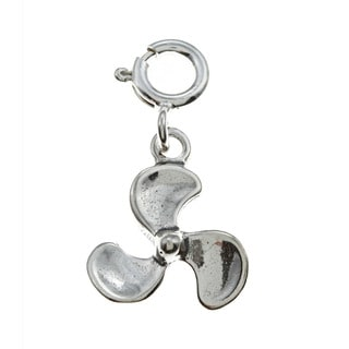 Sterling Silver Propeller Charm