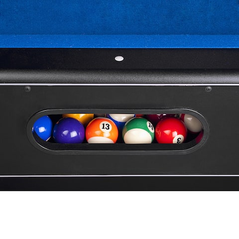 Hathaway Hustler Pool Table - Blue