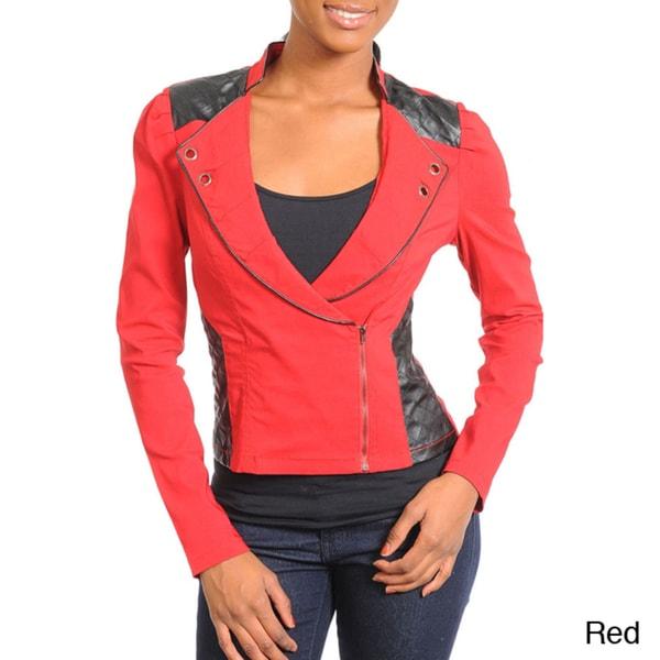 Stanzino Women's Edgy Side-zip Jacket
