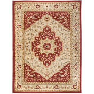 Safavieh Heriz Cream/Red Area Rug