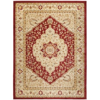 Safavieh Heriz Cream/ Red Rug