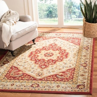 Safavieh Heriz Light Gray/Gold Area Rug