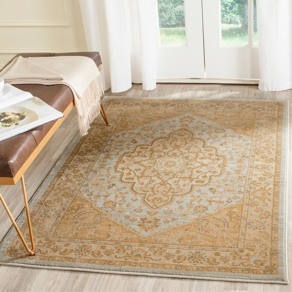 Safavieh Heriz Light Gray Gold Area Rug Free Shipping On