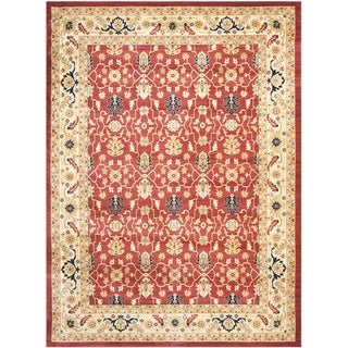 Safavieh Farahan Red/ Cream Rug