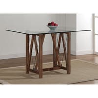 The Gray Barn Cable Grey Oak Finished Dining Table