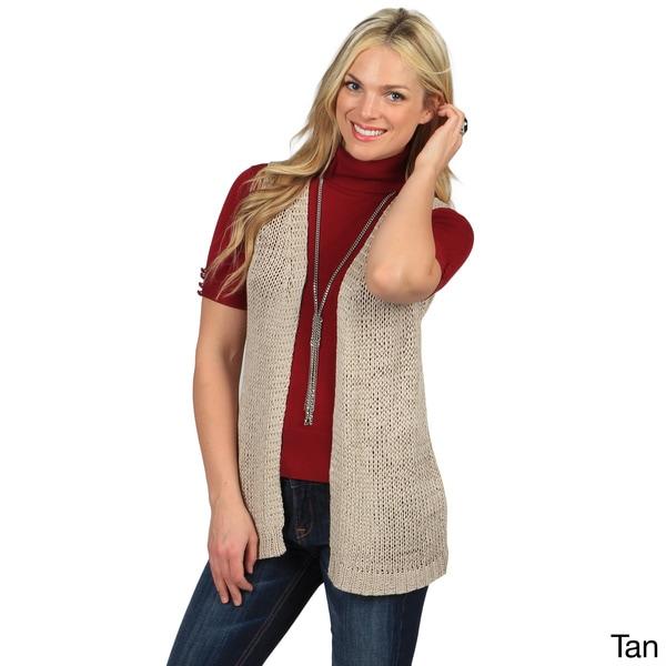 Celebrating Grace Women's 'Soho' Loose-Knit Vest