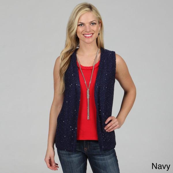 Celebrating Grace Women's Sparkler Vest