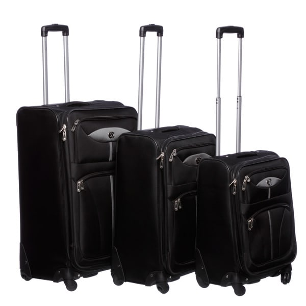 Oleg Cassini 'Light Weights' 3-piece Spinner Luggage Set