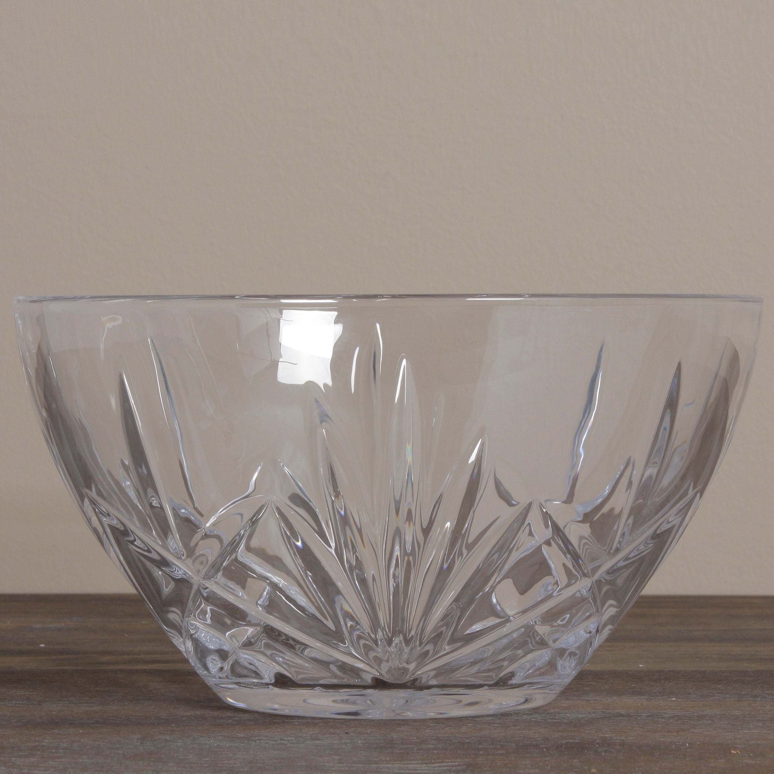 shop warterford marquis 10 inch glass serving bowl overstock 7516809 warterford marquis 10 inch glass serving bowl