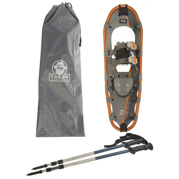 "Yukon Charlies 8"" x 25"" Complete Snowshoe Kit"