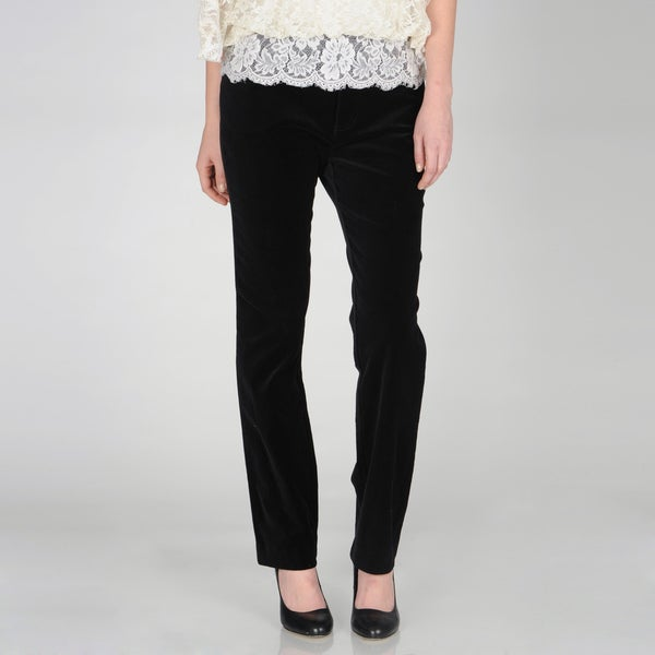 E39 by Eric Black Stretch Velveteen Pants