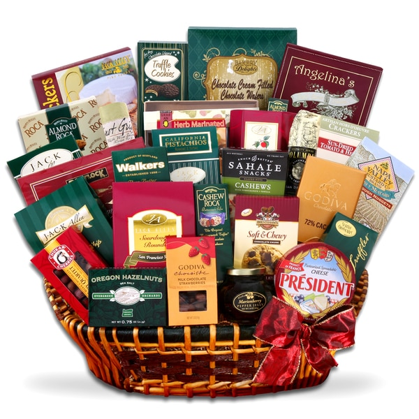 Alder Creek Extravagant Gourmet Traditions Gift Basket