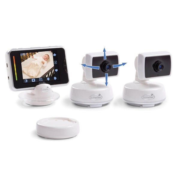 Summer Infant Baby Touch Color Video Monitor with 2 Extra Cameras