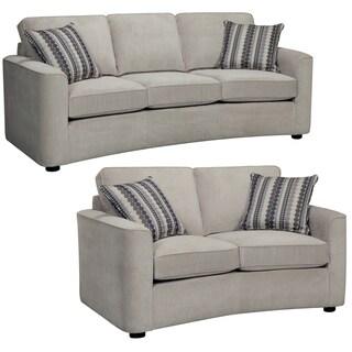 Marley Light Gray Sofa and Loveseat