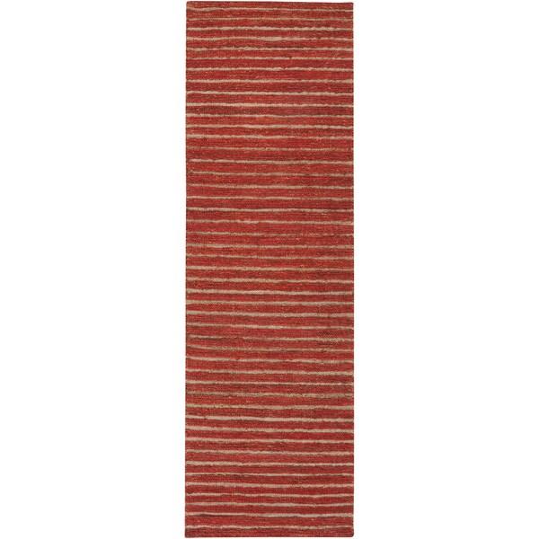 Hand-woven Nome Natural Fiber Hemp Rug