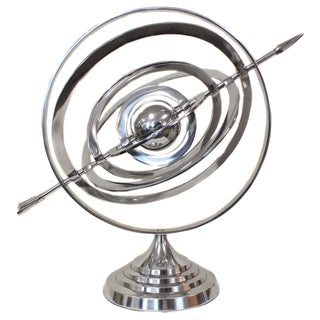 Armillary Nautical Sphere Globe Table Accent Piece