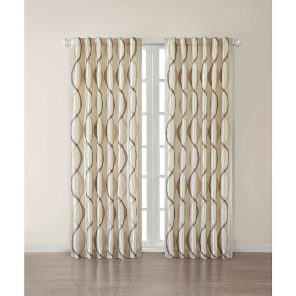 Madison Park Marcel Window Curtain Panel Free Shipping On Orders Over 45 14956062
