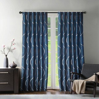 Madison Park Marcel Embroiderd Window Curtain Panel