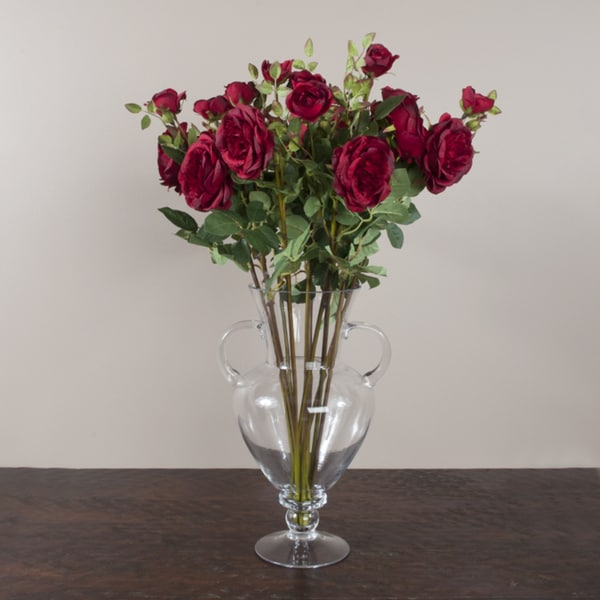 Faux 29-inch Long Roses (Set of 12)