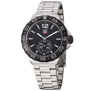 Tag Heuer Men's WAU1110.BA0858 'Formula 1' Black Dial Stainless-Steel Swiss Quartz Watch