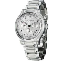 Baume & Mercier Men's MOA10064 'Capeland' Chronograph Automatic Stainless Steel Watch