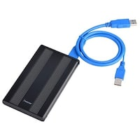 INSTEN USB 3.0 Black 2.5-inch SATA HDD Enclosure