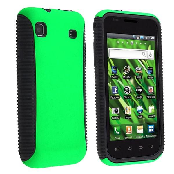BasAcc Black/ Green Hybrid Case for Samsung Galaxy S 4G T959