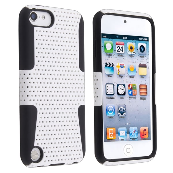 BasAcc Black/ White Hybrid Case for Apple iPod Touch Generation 5