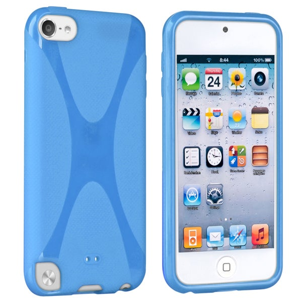 BasAcc Blue TPU Rubber Case for Apple iPod touch 5th Generation