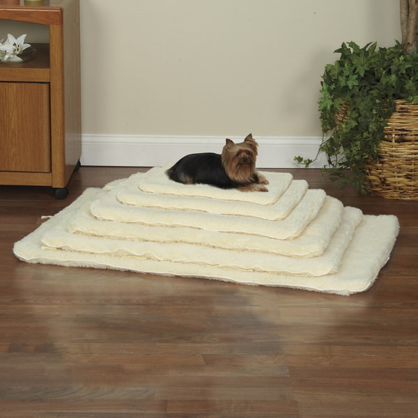 Slumber Pet Double-sided Natural Sherpa Mat
