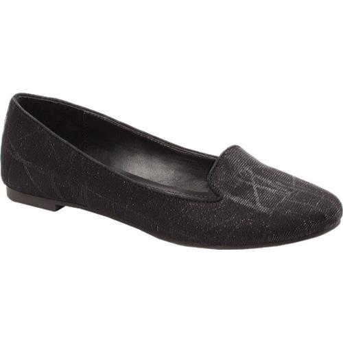 Women's BCBGeneration Dashi Black Glitter Mesh