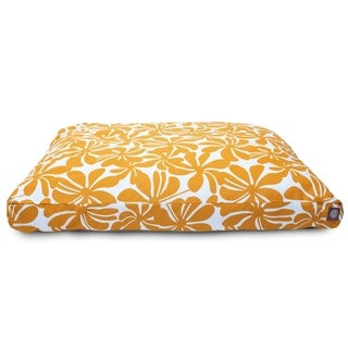 Majestic Pet Yellow Plantation Rectangle Dog Bed