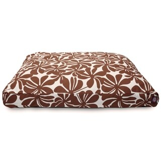Majestic Pet Chocolate Plantation Rectangle Pet Bed