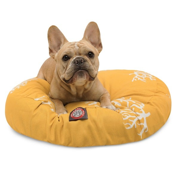 majestic pet beds. Majestic Pet Yellow Coral Round Bed Beds