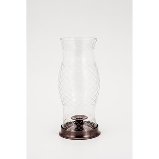 Lexington Cut Glass Hurricane Lamp
