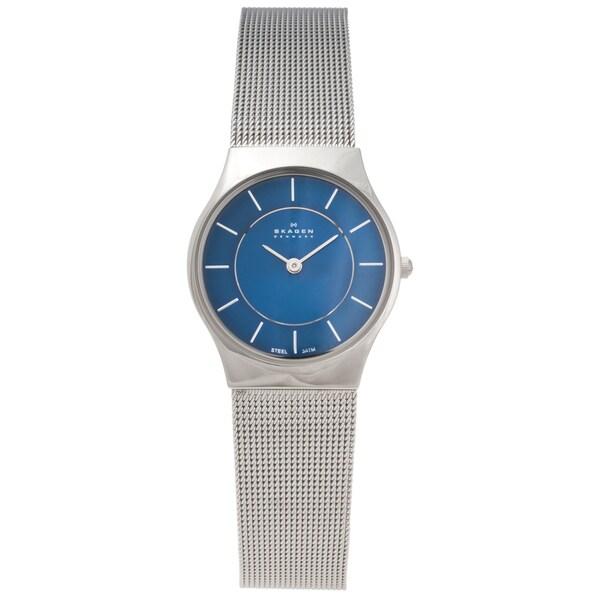Skagen Women's Stainless Steel Slim Profile Watch