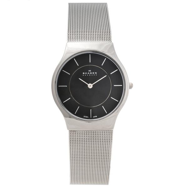 Skagen Men's Stainless Steel Slim Profile Watch