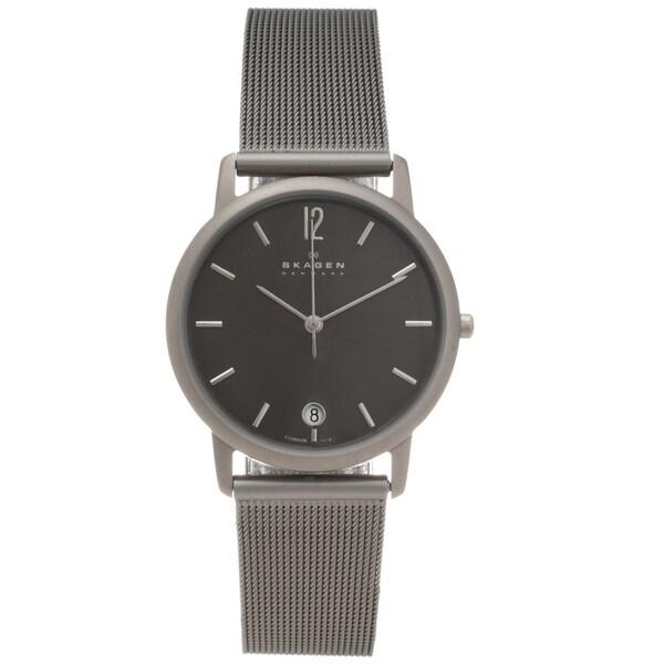 Skagen Men's Titanium Slim Profile Watch