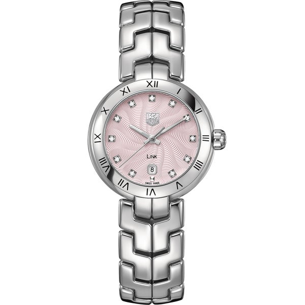 Tag Heuer Women's WAT1415.BA0954 Stainless Steel Diamond Watch