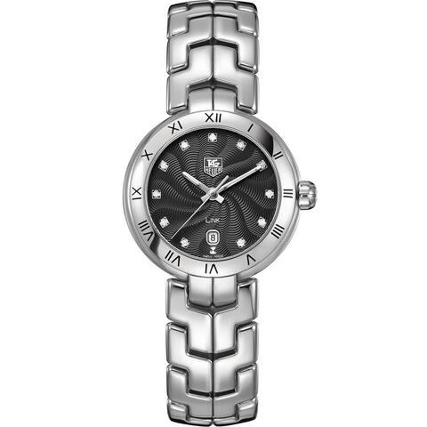 Tag Heuer Women's WAT1410.BA0954 Stainless Steel Diamond Watch