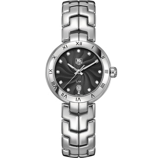 Link to Tag Heuer Women's WAT1410.BA0954 Stainless Steel Diamond Watch Similar Items in Women's Watches