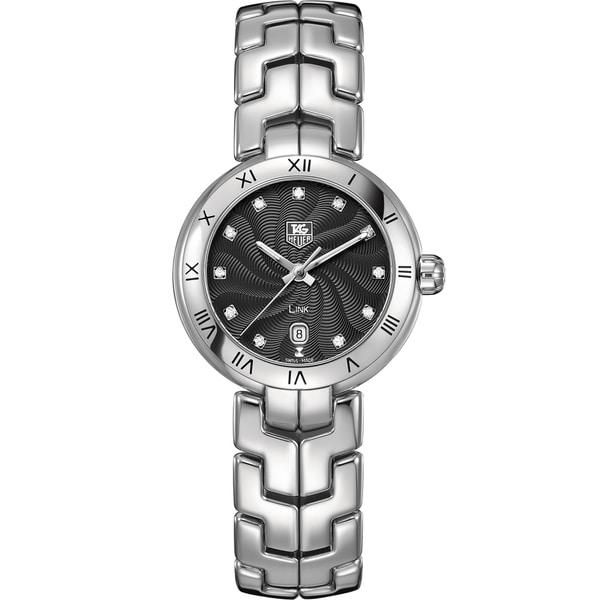 Tag Heuer Women's WAT1410.BA0954 Stainless Steel Diamond Watch. Opens flyout.