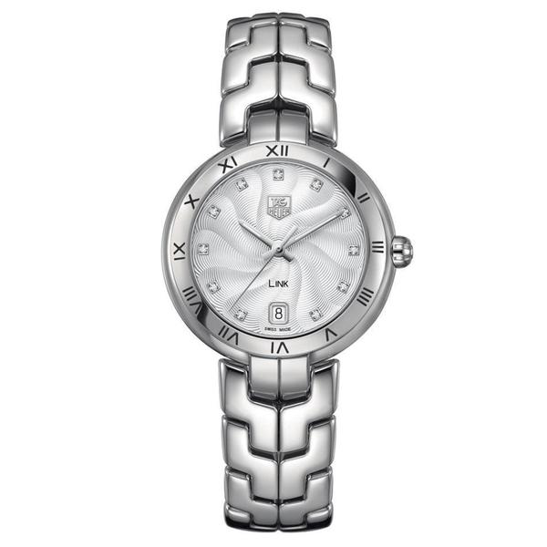 Tag Heuer Women's Stainless Steel Diamond Watch