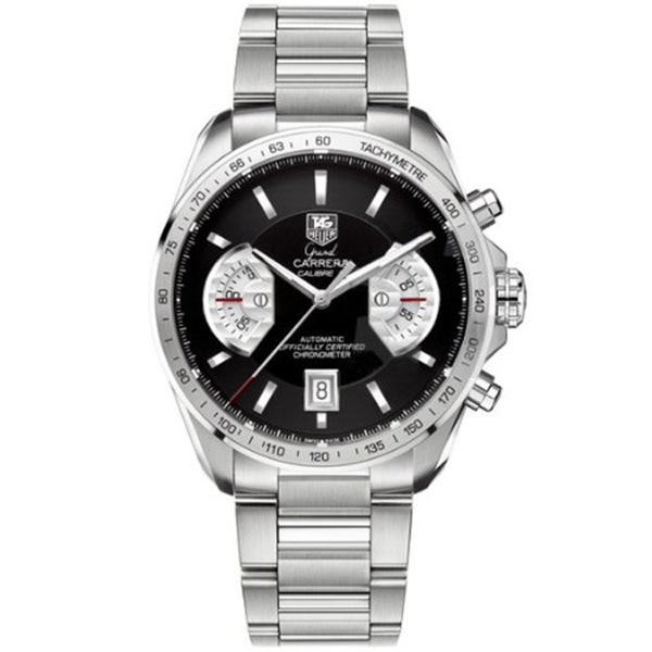 Tag Heuer Men's Steel 'Grand Carrera' Automatic Watch