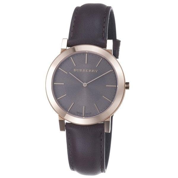 Burberry Men's Rose-goldtone Slimline Watch