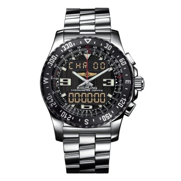 Breitling Men's Stainless Steel 'Professional Airwolf' Watch